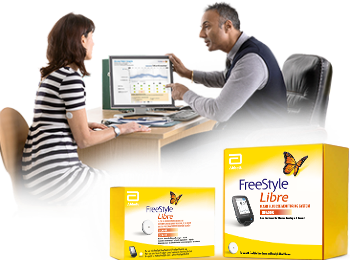The FreeStyle Libre system is a revolutionary way of glucose monitoring