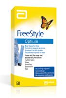 FreeStyle Optium Blood Glucose Test Strips
