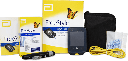 FreeStyle Optium Neo pack